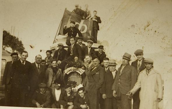 Excursie Grand Quevilly Tunis 22 maart 1938