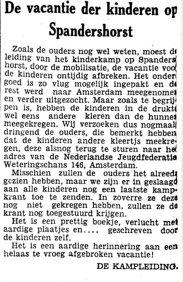 HetVolksDagblad25101939