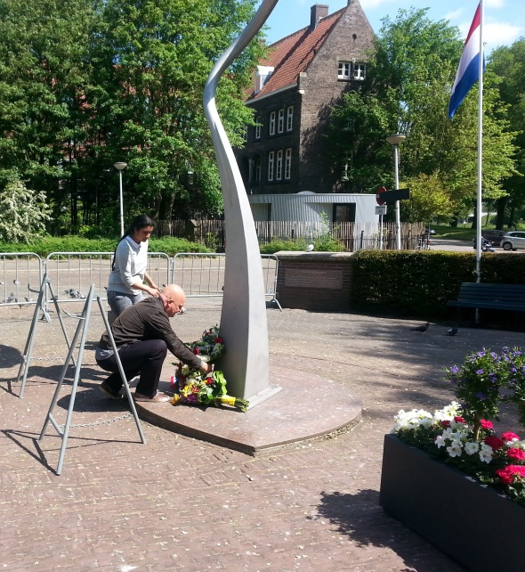 Herdenking Spaanse Burgeroorlog Amsterdam 2015