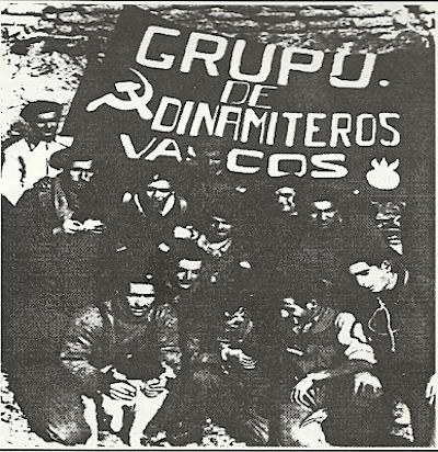 Baskische 'Dinamiteros'