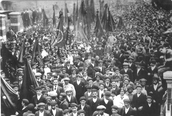 Manifestatie in Mieres