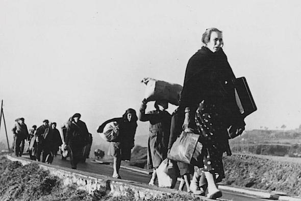 Op weg naar Madrid, oktober 1936.