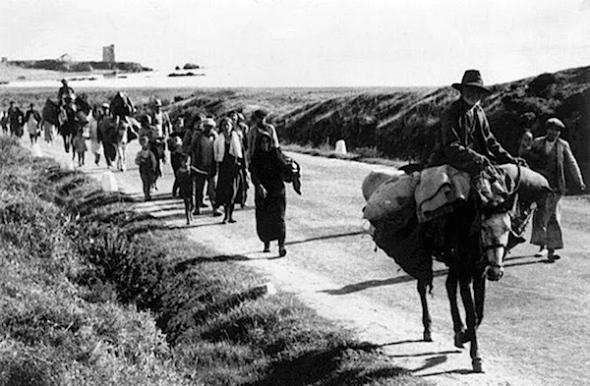 La Desbandada, februari 1937.