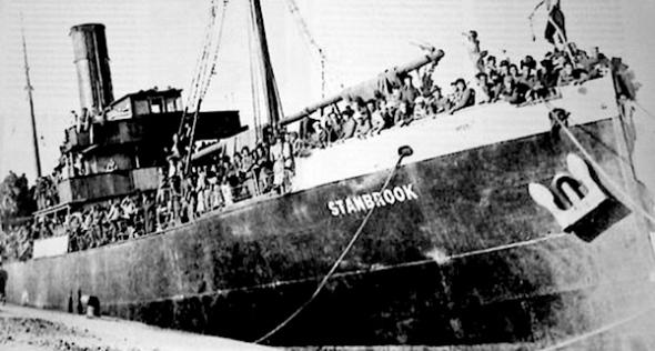 SS Stanbrook, Almeria 1939.