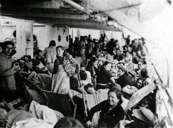 SS Winnepeg augustus, 1939.