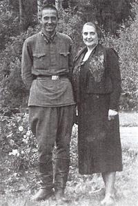Rubén en Dolores Ibárruri