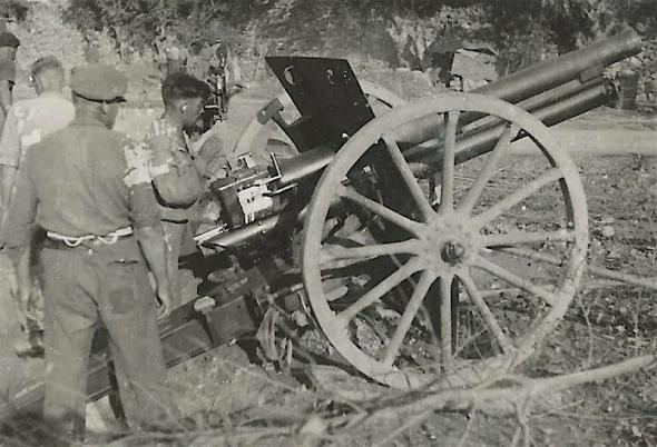 Thälmannbatterie Sector Segorbe - Onda. September 1938