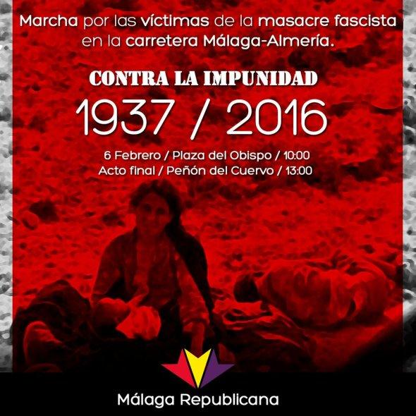 Malaga Herdenking 2016