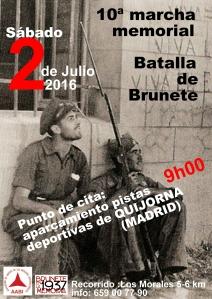 Cartel marcha Quijorna 2016