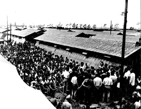 Het Duitse koor in kamp Gurs