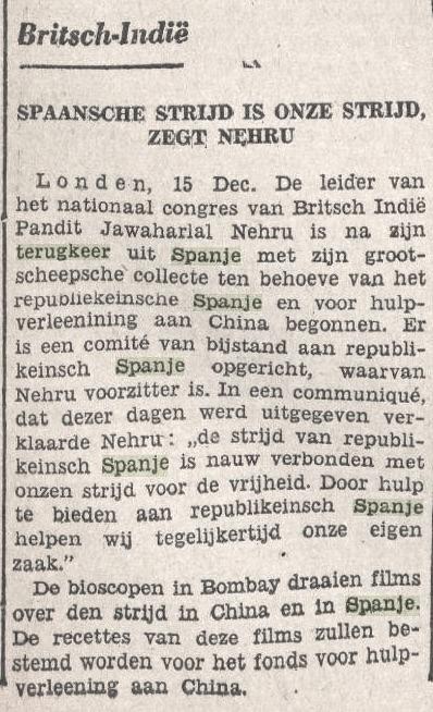 Bataviaasch Nieuwsblad 16 december 1938