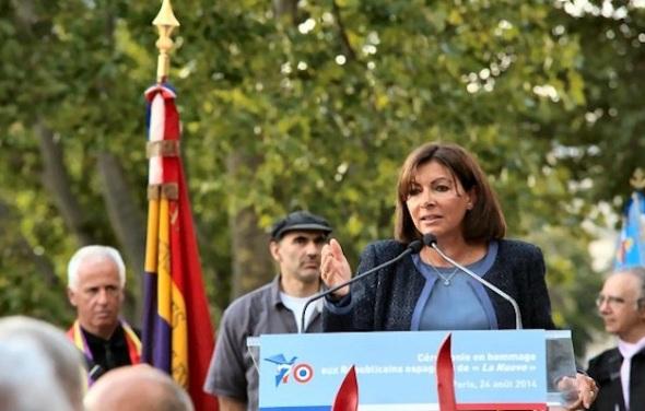 Toespraak van mevrouw Hidalgo, burgemeester van Parijs