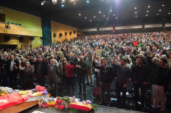 Meer dan 1000 mensen waren aanwezig bij afscheid Marcos Ana (c) Bernd Kolter