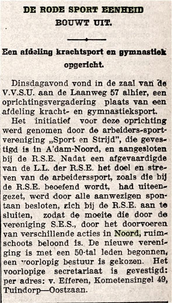 De Tribune 3 december 1935