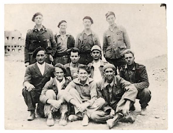 Interbrigadisten uit Wales Brunete 1937